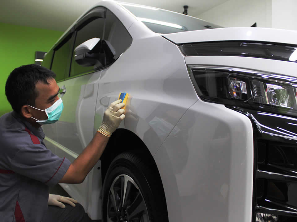 Nano Coating Toyota Voxy