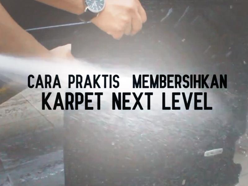 Cara Mudah Bersihkan Karpet Pvc Next Level